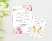 Wedding Invitation & Program