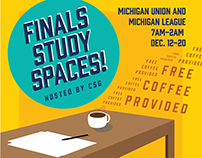 Finals Study Spaces