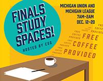 Finals Study Spaces