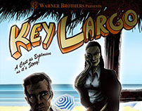 Key Largo Title Sequence & Poster