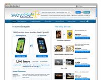 Swayable - UX Wireframes & Design