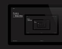 F A A L — Identity & Web Site