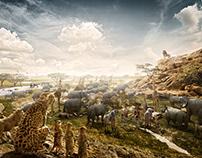 Zoo Safari - Lion King