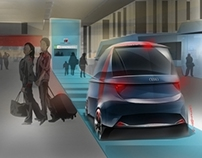 Audi A to B Global Mobility sponsored project