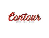 Contour America's Lager Branding + Advertising