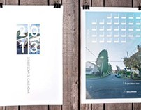 2012 Streetscapes Calendar Layout + Photography