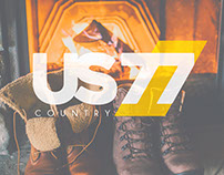 U.S.77 Country Shoes Corporate Identity