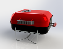 Weber Go everywhere - portable charcoal grill