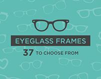 Eyeglass Frames (GIF)