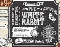 FLASH APP. The White Rabbit