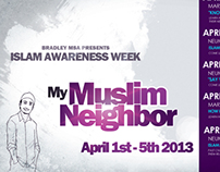 My Muslim Neighbor - MSA Event Poster