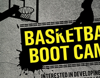 Basketball Boot Camp Poster