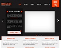 Magstore web design