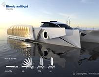 Bionic sailboat