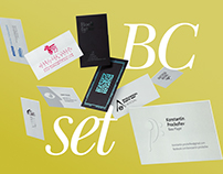 Branding | Bussines cards set