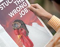 Wrong job? - Ad campaign
