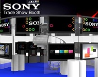 Sony Trade Show Booth