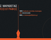 JOURNALIST BUSINESS CARD