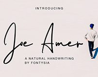 Joe Amer a Natural Handwriting