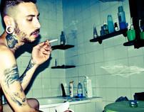 Adriano en el baño de pelayo