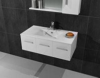 Επιπλο μπάνιου Quattro