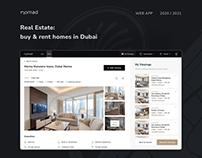 Nomad Homes Website