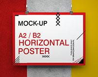 Free poster set mockups