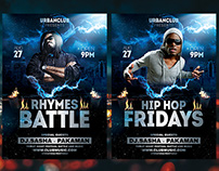 Rap Flyer Template