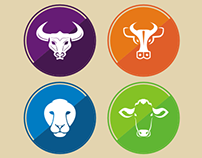 30 Amazing Animal Vector Icons