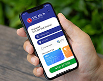 Payment only mobile design