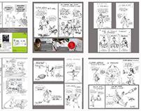 dessins pour communication Bruno Tascon VANNES LORIENT