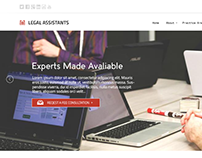 Legal Aid Website Design
