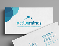 Active Minds Rebrand