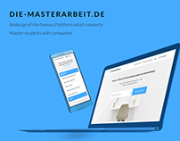 Die-Masterarbeit.de | Redesign