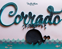 Lettering for baby boy