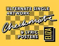 Alternate Single Artwork & Lyric Posters - Checkmate