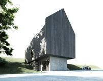 Sudeten house in Ladek Zdroj