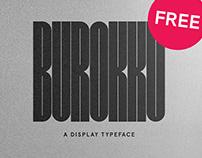 BUROKKU – FREE FONT