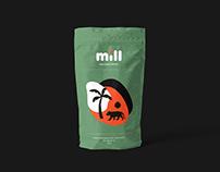 Mill - espresso blend | Branding