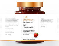Packaging Design | Lucullus Fruchtaufstrich / Jam