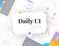 Daily UI Challenge | #001 - #025