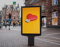 Posters on organ donation