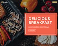 LeadGen - Multipurpose Landing Page - Restaurant