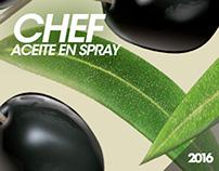 Chef / Aceite en Spray
