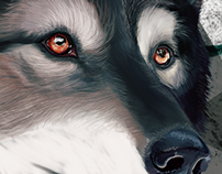 The wolf, raven and fox.