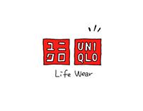 UNIQLO TVCM -step to color-