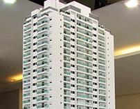 Maquete edifício residencial, SP