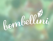 Logotype design for new children brand - Bombellini