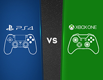 Infographics: PS4 vs. XBOX ONE (Updated: June 22,2013)