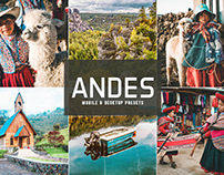 Free Andes Mobile & Desktop Lightroom Presets